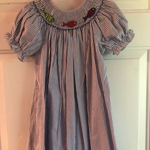 Other - Smocked fish dress